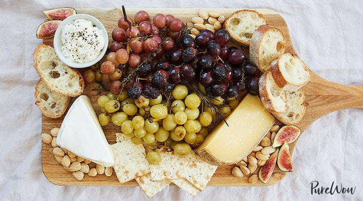 Ultimate Cheese Plate with Roasted Grapes & Ultimate Cheese Plate with Roasted Grapes - PureWow