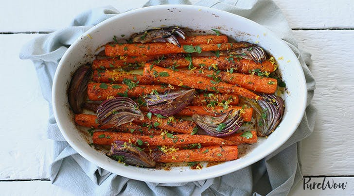 Whole Roasted Carrots