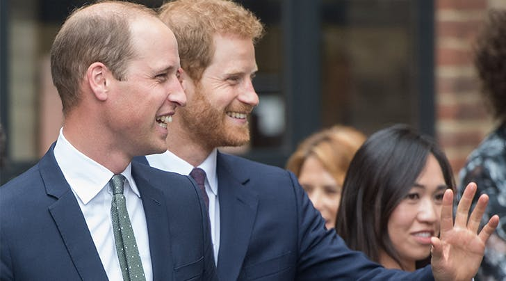 Here's What Prince William Had to Say About His Brothers Rumored Engagement
