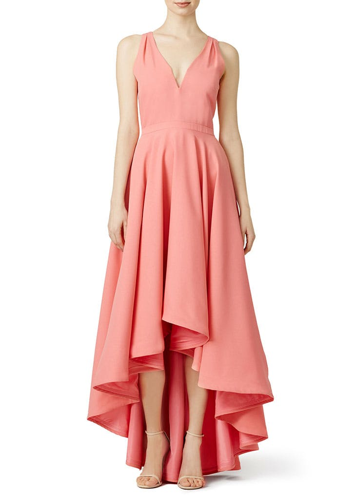 rtr bridesmaid high low