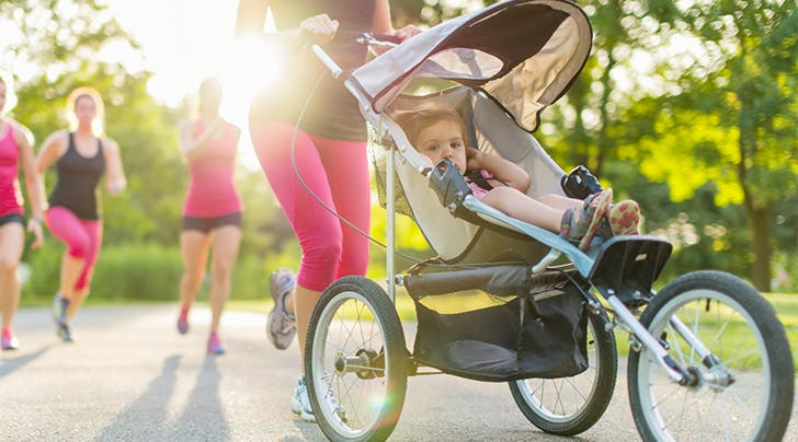 The One Mistake You're Making When You Run with a Jogging Stroller