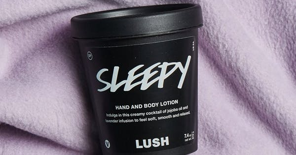 I Tried Lush's Magical 'Sleepy' Lotion and It Knocked Me Out in 15 Minutes