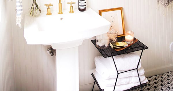 Chic Ideas for Small Bathrooms - PureWow