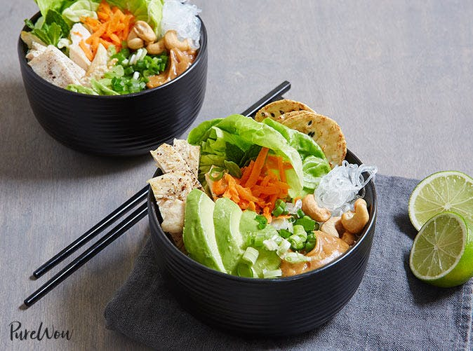 spring roll bowls 501