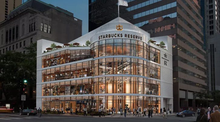 This Giant Starbucks Roastery Is Like an Amusement Park for Coffee Addicts