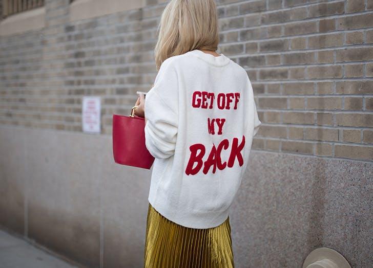 street Style sweatshirt