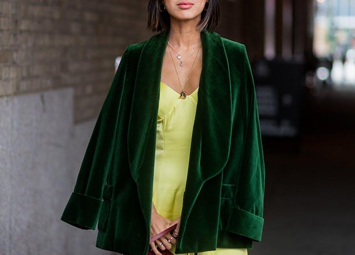 street style blazer