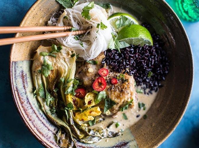 thai lemongrass chicken braised in coconut milk 5011