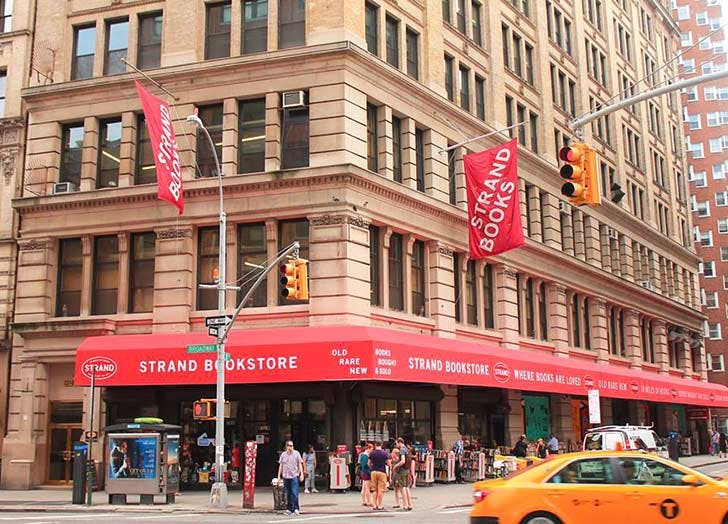 the strand bookstore NY