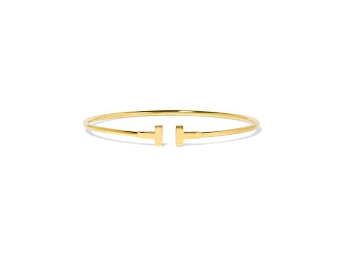 tiffanys gold bangle