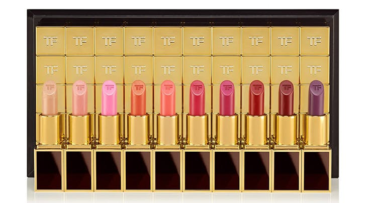Tom Fords Epic New 100-Piece Lipstick Collection Proves He Has More Friends Than All of Us