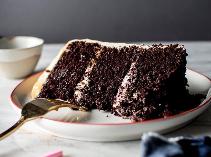 triple layer chocolate cake salted caramel buttercream 501