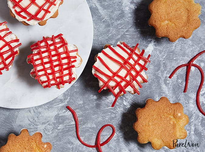 twizzler lattice cupcakes