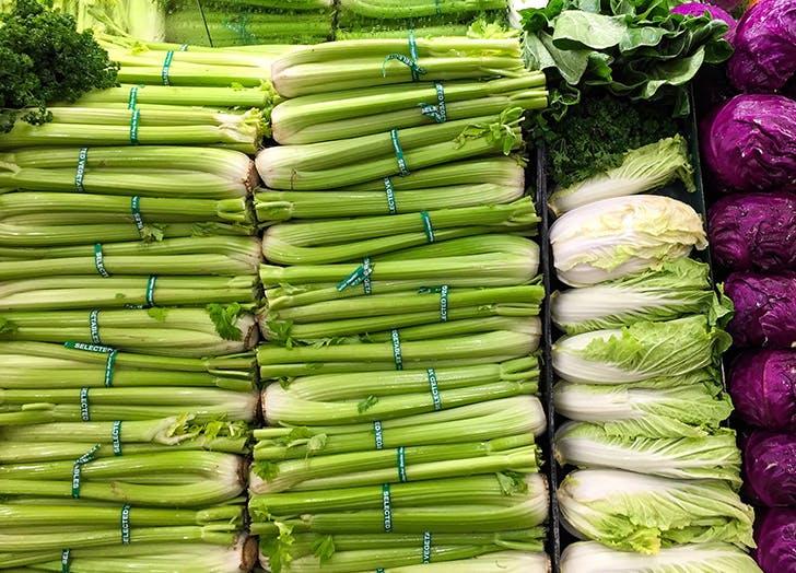 whiten celery
