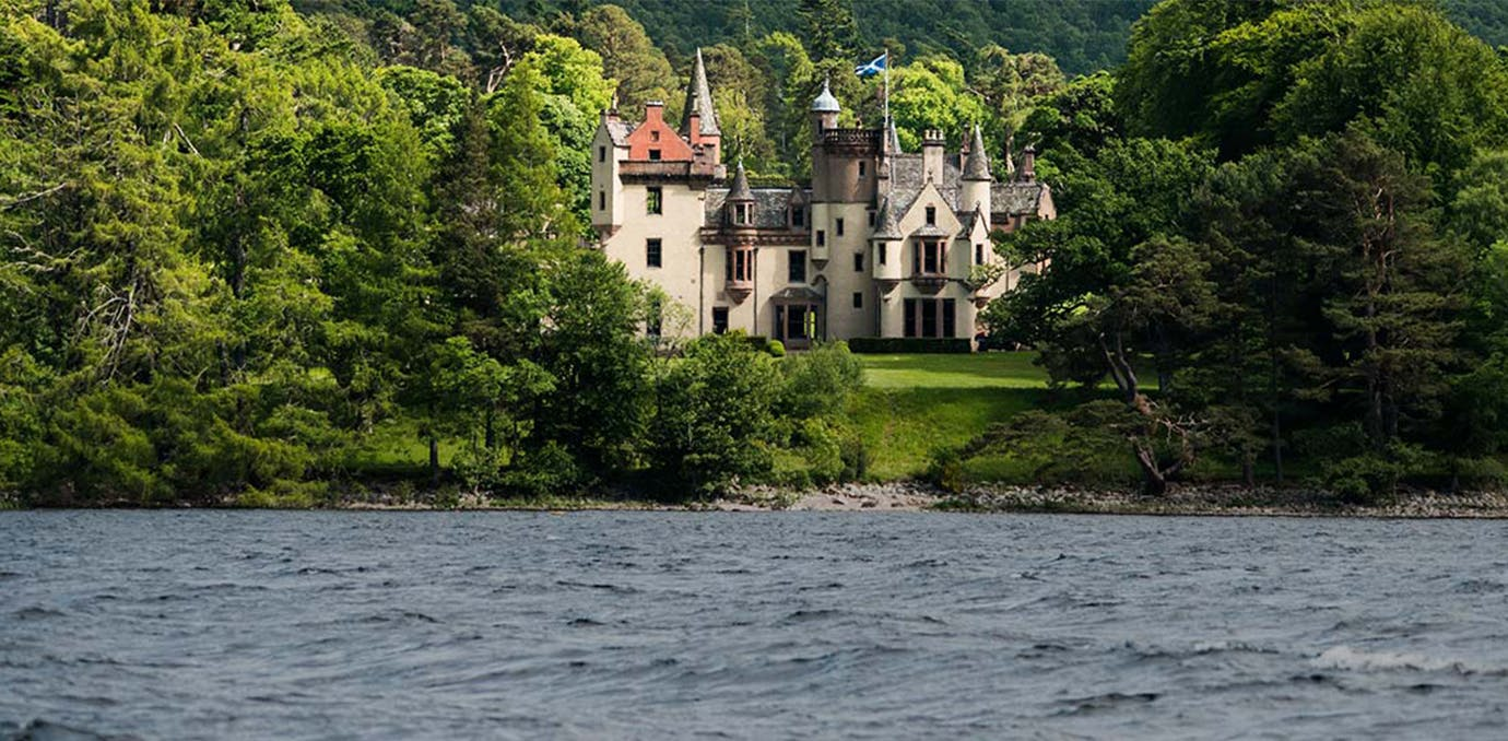 Aldourie Castle Estate  Loch Ness