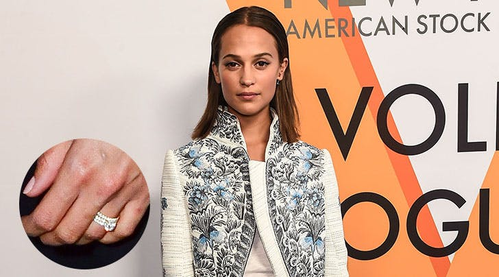 Heres Your First Look at Alicia Vikanders Stunning New Wedding Ring