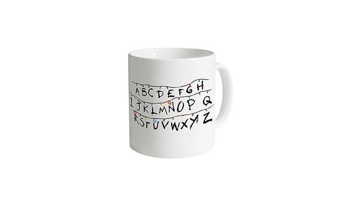 Amazon halloween decor   Stranger Things coffee mug