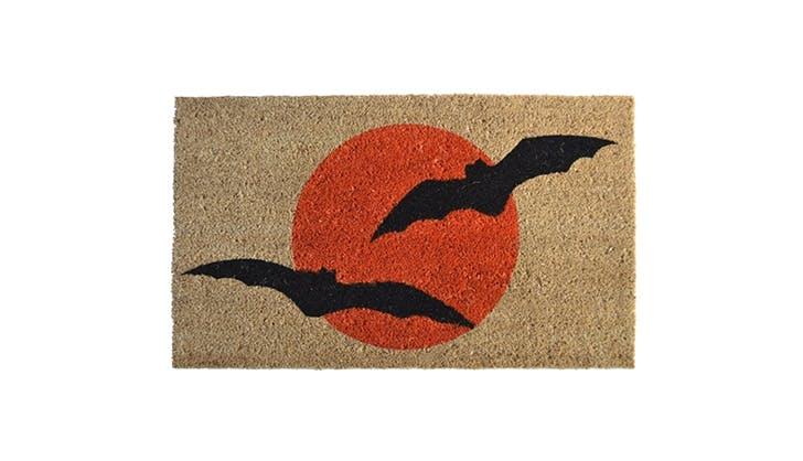 Amazon halloween decor   halloween bat doormat