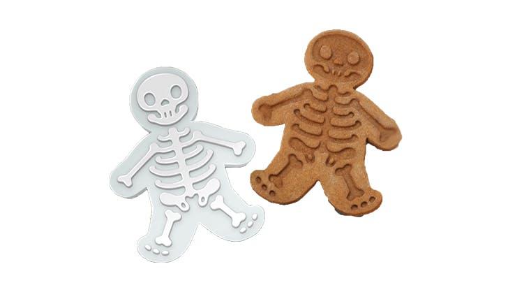Amazon halloween decor   skeleton cookie cutter