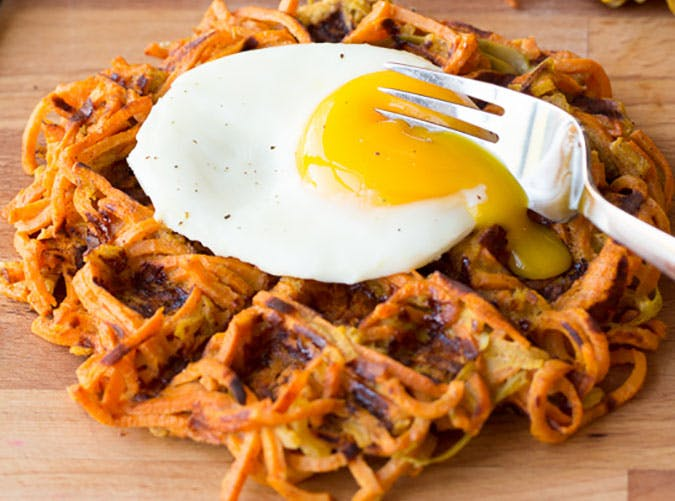 Apple Cinnamon Sweet Potato Waffle 17