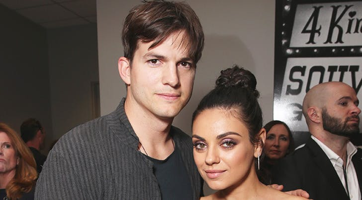 Ashton Kutcher Shares Why He and Mila Kunis Dont Post Photos of Their Kids on Social Media