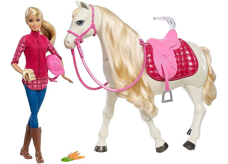 Barbie Dream Horse   Blonde Doll
