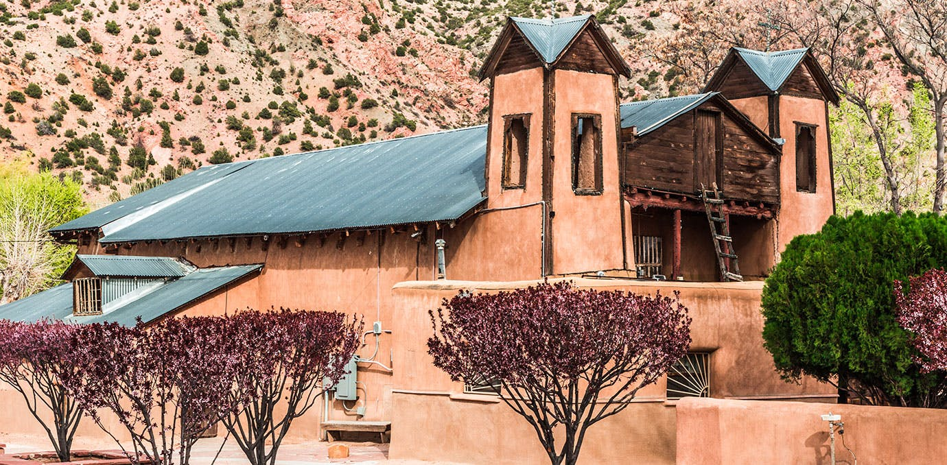 Beautiful building in Chimayo New Mexico