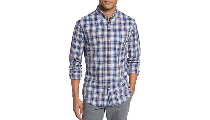 Bonobos plaid sport shirt