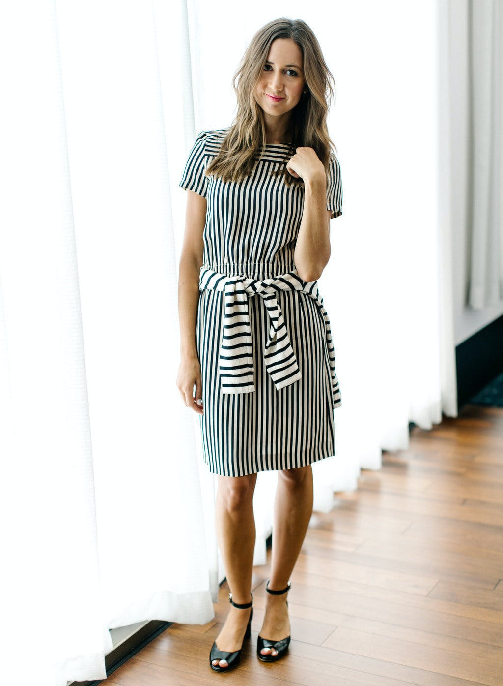 But If You  Want to Try Prints  Go With Stripes