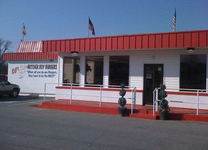 CJs Burger Boys diner in Russelville Arkansas