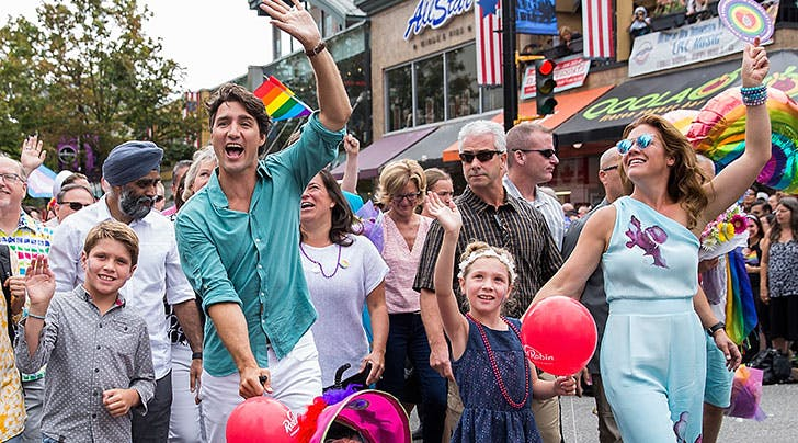 Justin Trudeau Explains Why He's Raising All His Kids to Be Feminists