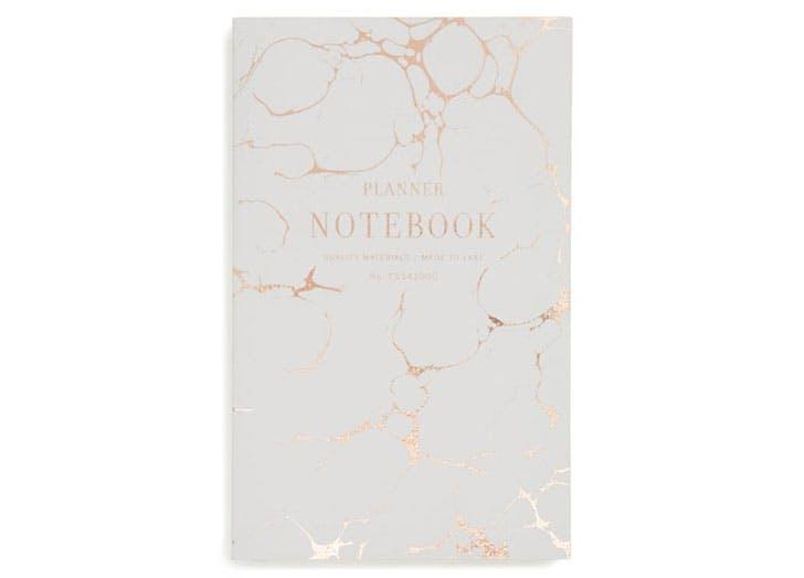 Chic notebook planner