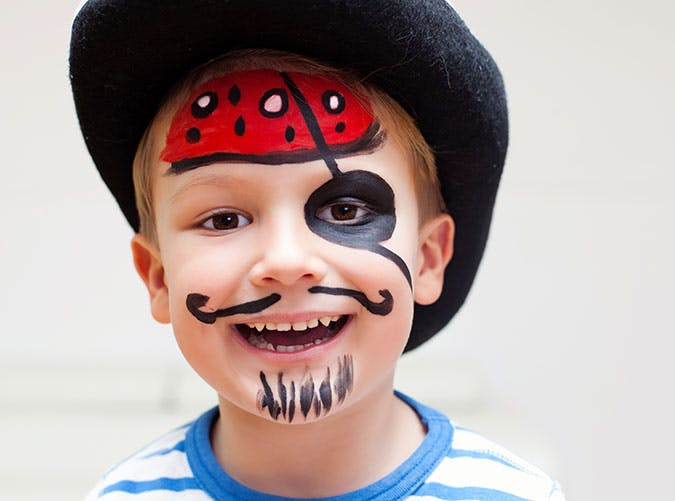 Cute pirate last minute Halloween costume idea