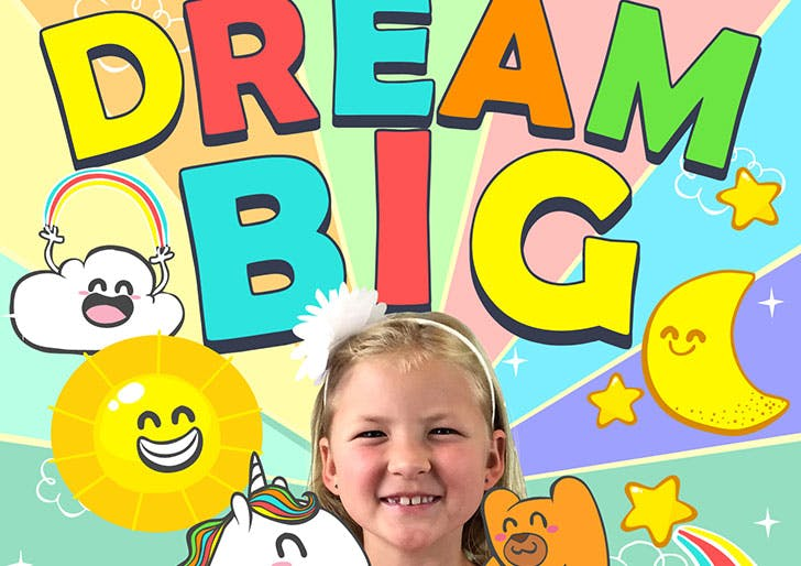 Dream Big family friendly podcast for kids