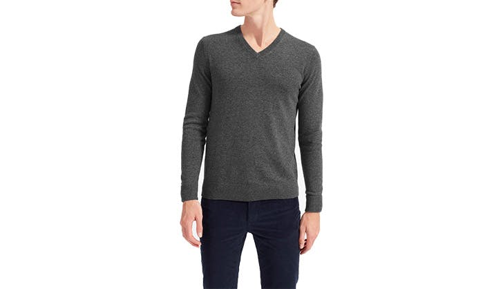 Everlane cashmere v neck sweater