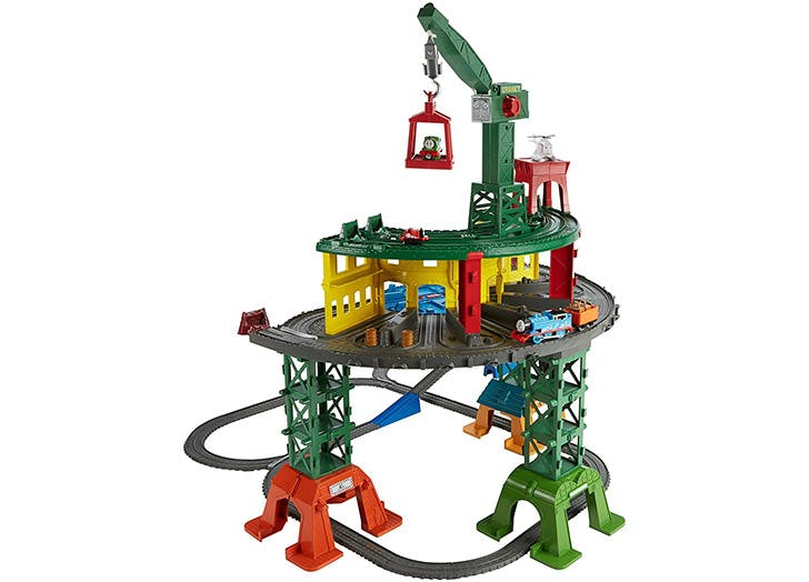 Fisher Price Thomas   Friends Super Station Playset  copy