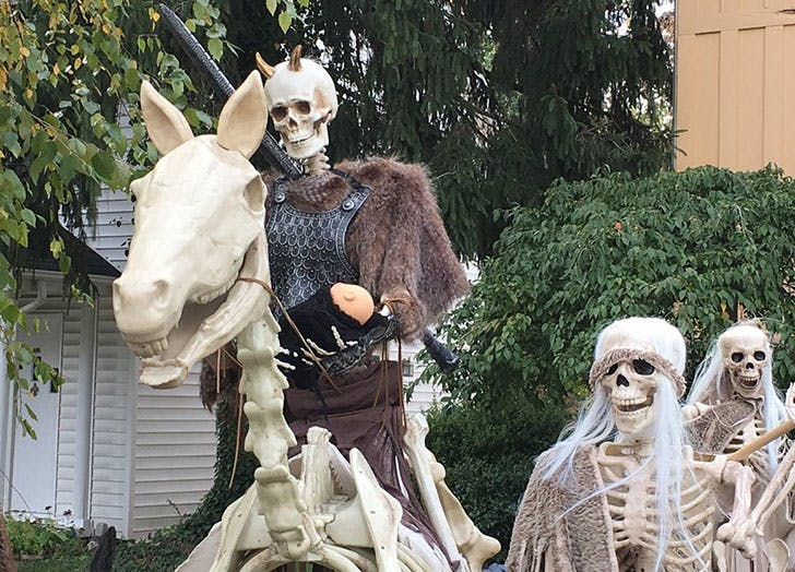 Game Thrones Halloween Home Decor Night King