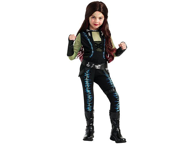 Gamora Guardians of the Galaxy Halloween costume for kids