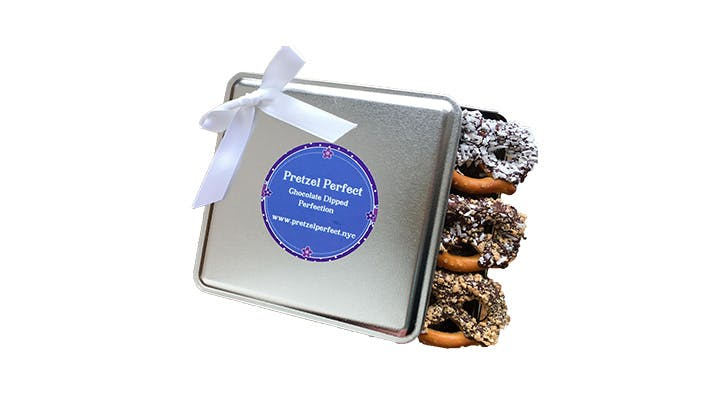 Gift ideas for bosses   chocolate covered pretzels