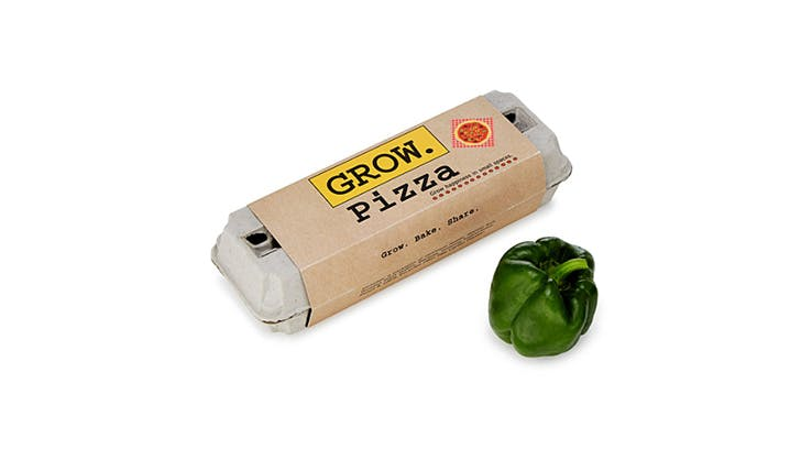 Gift ideas for bosses   pizza grow kit
