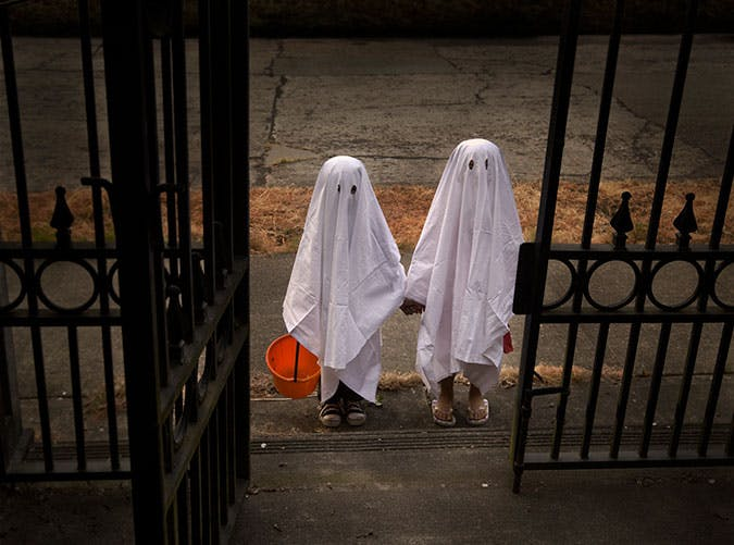 Halloween ghosts costume idea