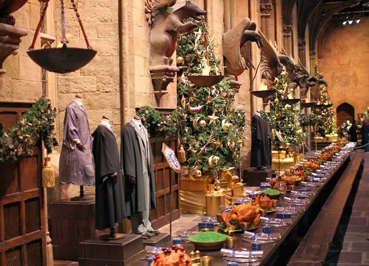 Harry Potter Studio Tour Christmas Dinner
