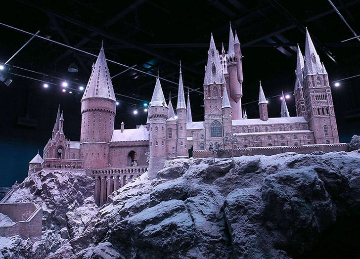 Harry Potter Studio Tour Hogwarts in the Snow