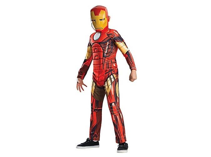 Iron Man superhero Halloween costume for kids