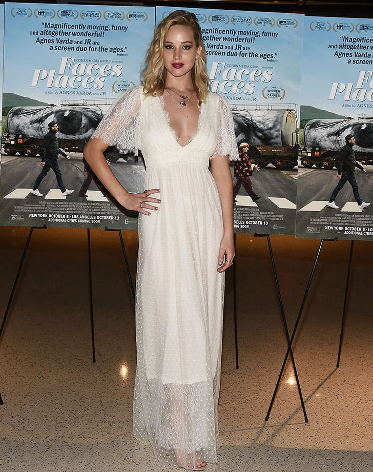 Jennifer Lawrence wedding dress