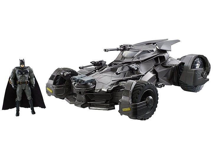 Justice League Batmobile Collectible Vehicle   Figure