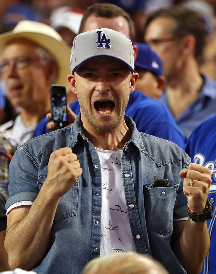 Justin Timberlake game 2 World Series