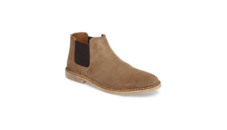 Kenneth Cole suede chelsea boots