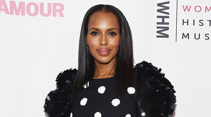 Kerry Washington Is Working on a New Facebook Show & Leaving Olivia Pope Behind