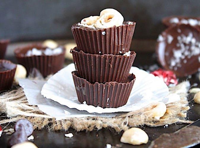 Keto Chocolate Hazelnut Butter Cups